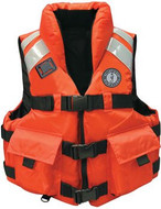 Mustang High Impact SAR Life Vest, Type III PFD - orange