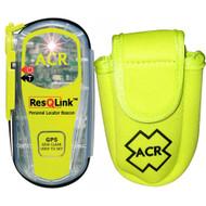 ACR ResQLink PLB bundled with Optional Flotation Pouch