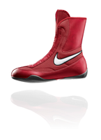 NIKE Machomai MID TOP Boxing Shoes - Red Color