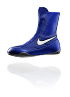 Nike Machomai Mid - Blue Boxing Shoes