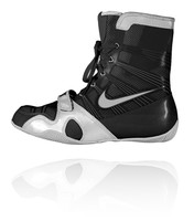 Nike HyperKO - Black / Silver Boxing Shoes