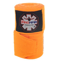 "NEW! PRO MMA® PERFECT STRETCH 180"" HAND WRAPS Orange Color"