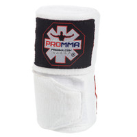 "NEW! PRO MMA® PERFECT STRETCH 180"" HAND WRAPS White Color"