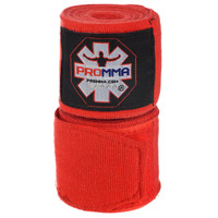 "NEW! PRO MMA® PERFECT STRETCH 180"" HAND WRAPS Red Color"
