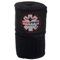 "NEW! PRO MMA® PERFECT STRETCH 180"" HAND WRAPS Black Color"