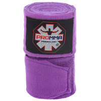 "NEW! PRO MMA® PERFECT STRETCH 180"" HAND WRAPS Purple Color"