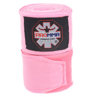 "NEW! PRO MMA® PERFECT STRETCH 180"" HAND WRAPS Pink Color"