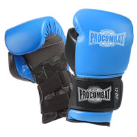 PRO COMBAT® PC7 REVOLUTION BAG GLOVES Blue / Black