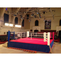 CUSTOM COMPETITION BOXING RING MADE IN USA - 20' x 20'