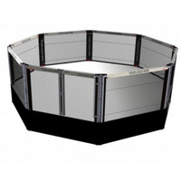 PRO MMA® Elevated Competition Cage 22 X 22 Octagon Series