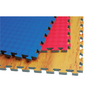 Reversible Puzzle Mat - Blue/Red