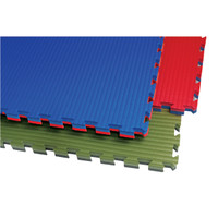 Reversible Tatami Mat - Blue/Red