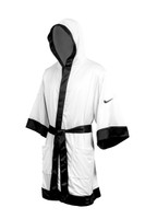 NIKE BOXING ROBE WHITE / BLACK