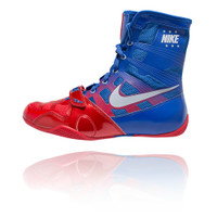 Nike HyperKO - Sport Red / Metallic Silver / Royal Boxing Shoes