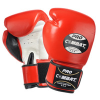PRO COMBAT® ELITE MUAY THAI TRAINING GLOVES Red Color