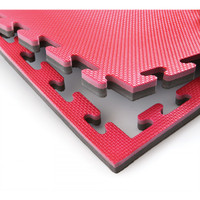 PROLAST Puzzle Sports Mat Red/Black Color