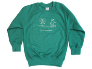 "Mount St Michael Nursery Green Sweatshirt (Sizes 22"" - 32"")"