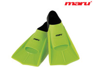 Maru Training Fins Lime/Black