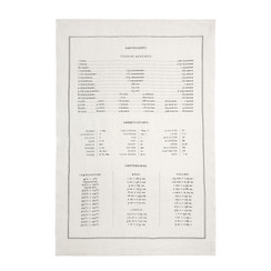 Measures Pure Linen Tea Towel