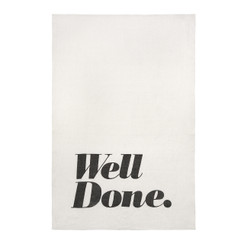 Well Done Pure Linen Tea Towel