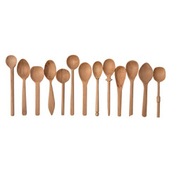 Baker's Dozen Wood Spoons, Small