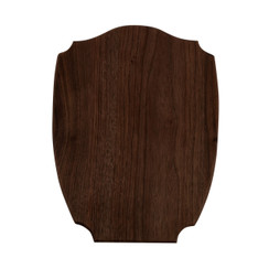 SMALL SHIELD NO. 5 WOOD BOARD, WALNUT