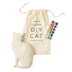 DIY Cat & Watercolor Set