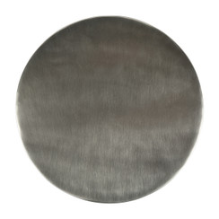 NICKEL-PLATED TRIVET 10""