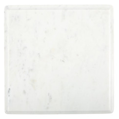 WHITE MARBLE OGEE SLAB, LARGE