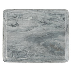 GRAY MARBLE OGEE SLAB, MEDIUM