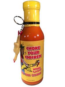 Choke Your Chicken Wing Sauce W/Keychain