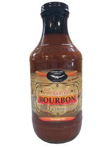 Peach Bourbon BBQ & Dipping Sauce (Fat Free & All Natural)