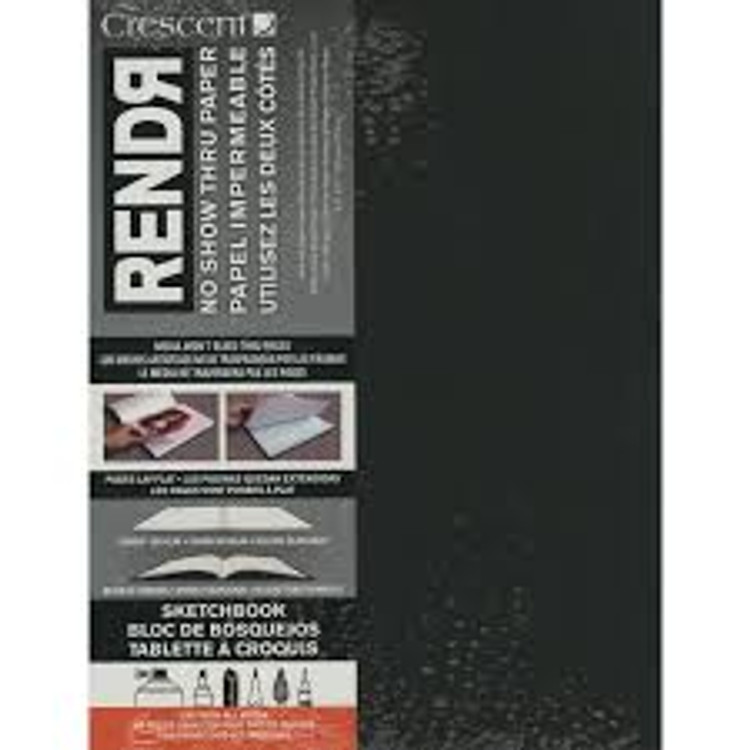 Rendr 8.5 x 11 Soft Cover Lay Flat Sketch