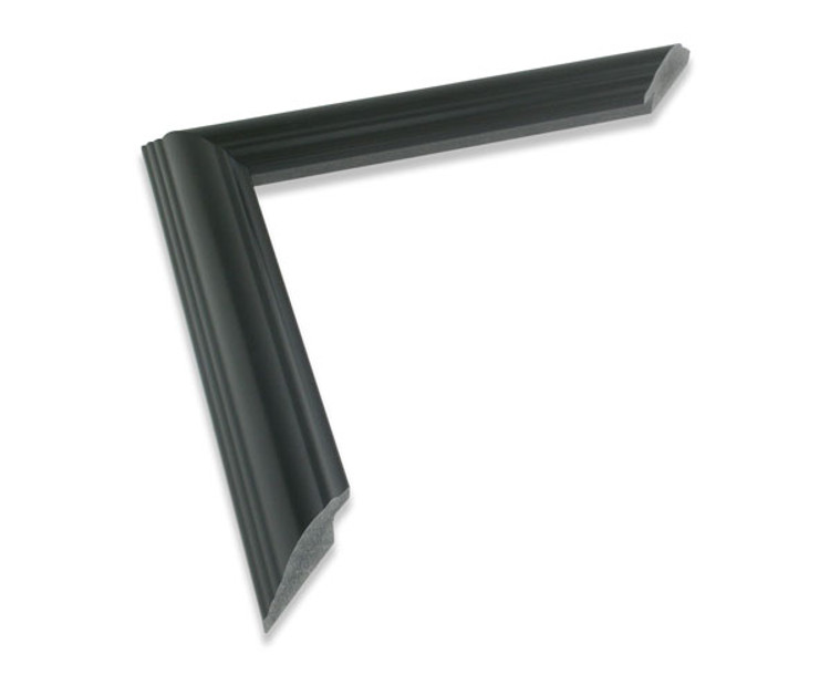 "1 1/4"" Black Synthetic Wood Frame (#511)"