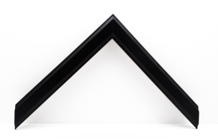 "3/4"" Black Wood Frame (#MS 350)"