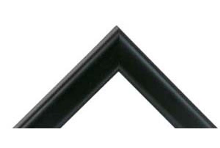 """7/8"""" Black Wood Frame (#MS 368)"""