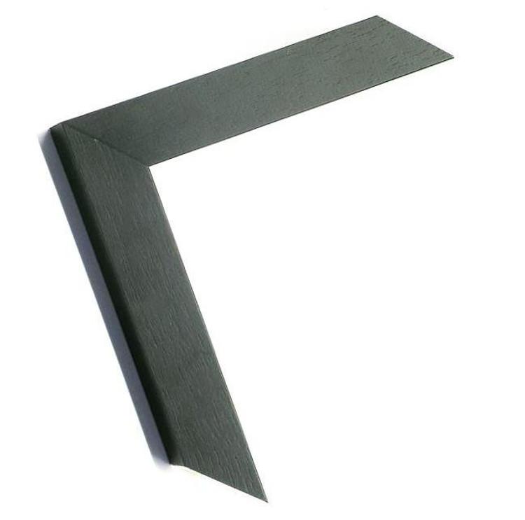 "1 1/4"" Black Grain Wood Frame (#MS 80682)"