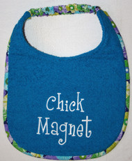 Chick Magnet Dog Drool Bib Special Order