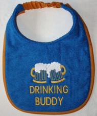 Drinking Buddy Drool Bib