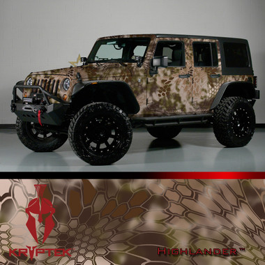 Kryptek Camo Vehicle Wrap Kits