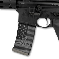 American Flag DTOM Stealth Black