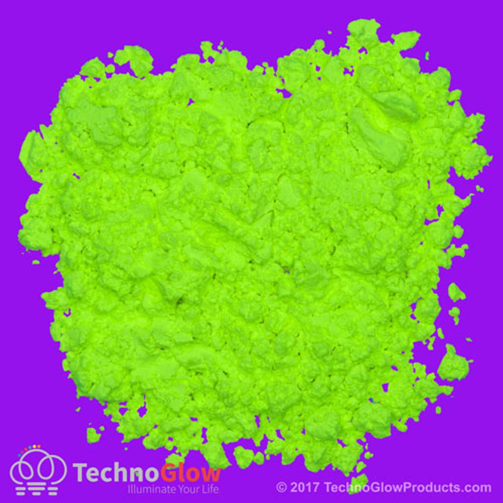 yellow uv reactive powder