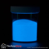 Blue Glow in the Dark & UV Powder - Daytime