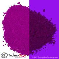 purple fluorescent pigment powder