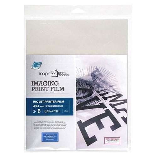 Imaging Print Film for Inkjet - 6 Pack