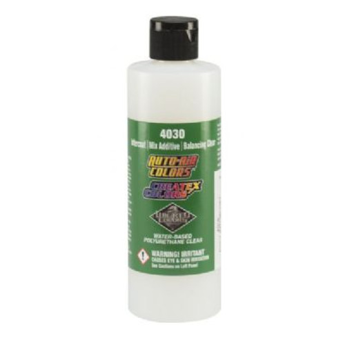 A non-catalyzed, polyurethane, water-based clear for use with automotive and hard-surface applications.  8 fl. oz.