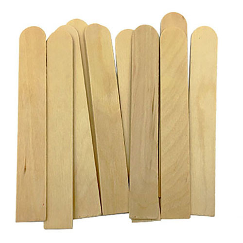 Wood Stirring Sticks - 10 Pack