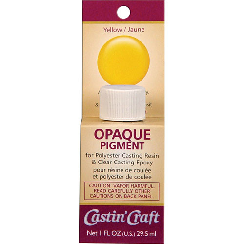 Yellow Dye for Resin & Epoxy - Opaque