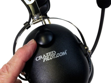 CRAZEDpilot CP-1 Aviation Pilot Headset