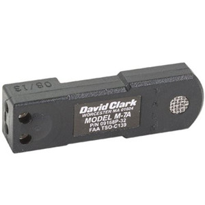 David Clark 09168P-33 M-7A Amplified Electret for H10-13.4 H10-60 H10-13X